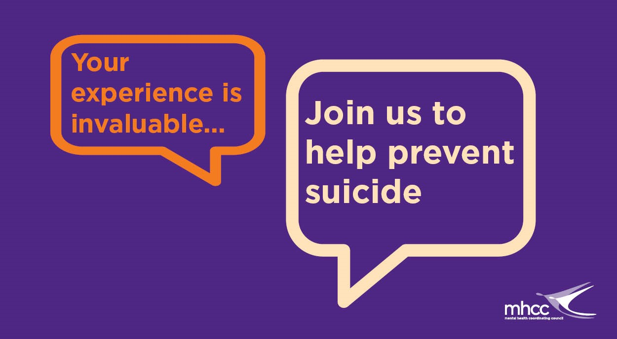 mhcc suicide prevention join us to share your views